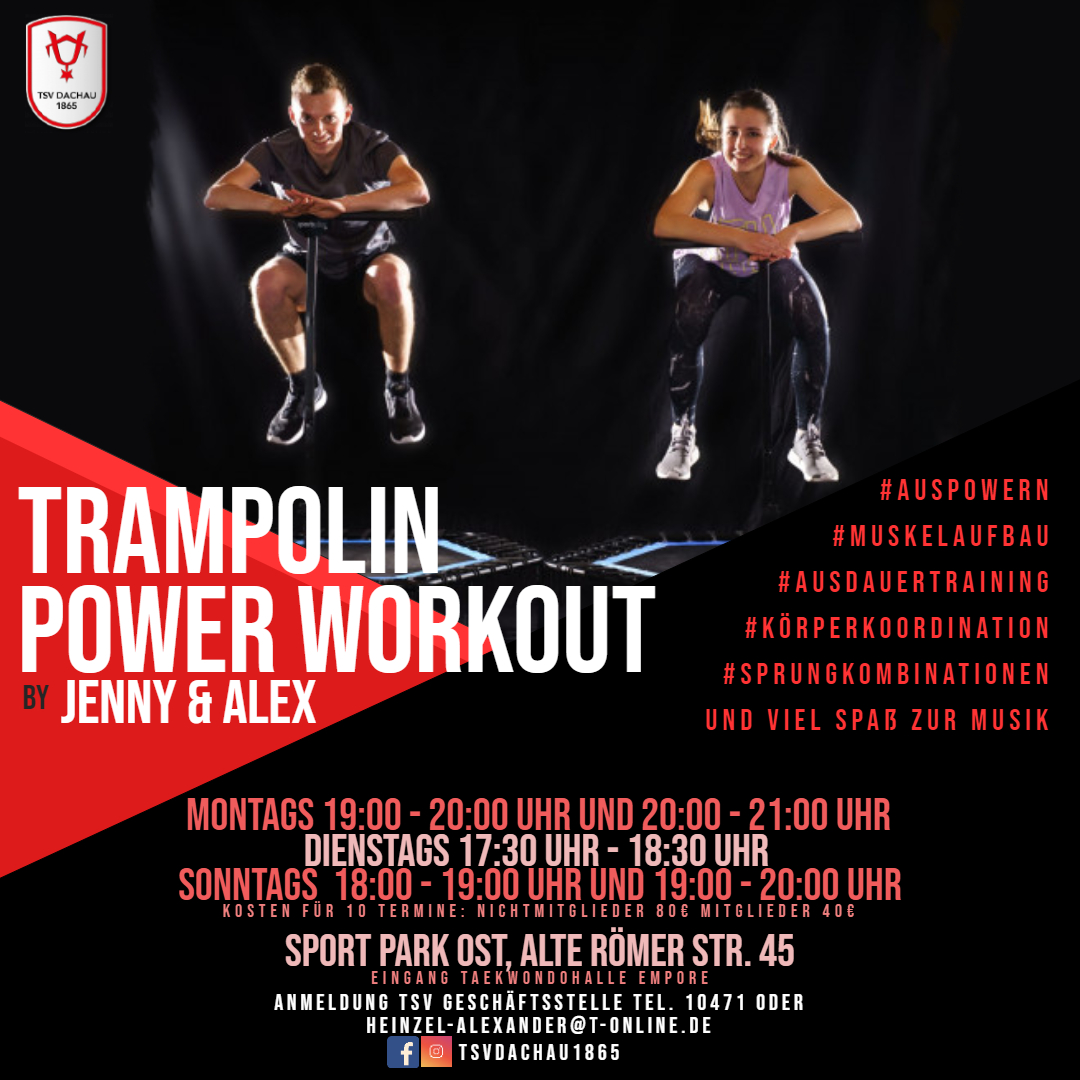 TSV Dachau 1865 Trampolin Power Workout
